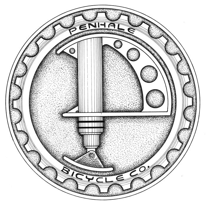 Penhale Bicycle Co. Logo Design