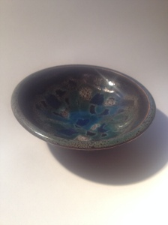 Tenmoku Small Dish
